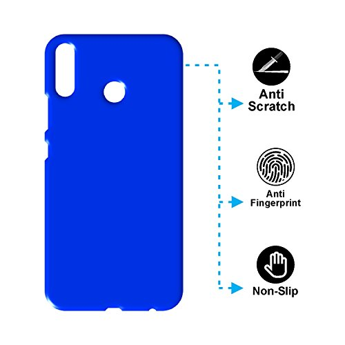 "Asus Zenfone 5Z ZS620KL Back Cover, Case Creation TM Hard Back Case Cover For Asus Zenfone 5z ZS620KL/ZenFone 5 (ZE620KL)/Asus Zenfone 5Z 6.2"" Inch 2018- Dark Royal Blue"