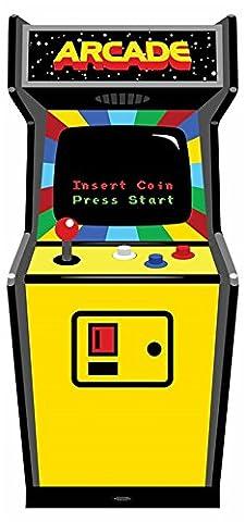 Années 80–Golden Age Vidéo Arcade Game Carton–Krokmou