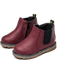 Nasonberg Jungen Mädchen Winter Schneestiefel Warme weiche Winterschuhe Boots für Kinder Baby