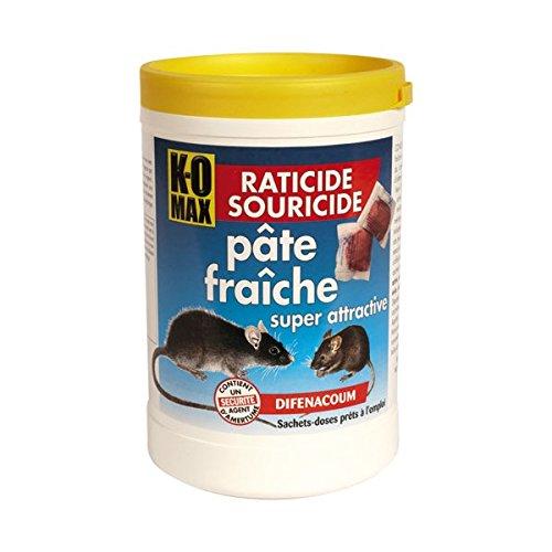 Raticide souricide - pâte - 400 g
