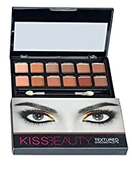 Kiss Beauty 12 Color Textured Eyeshadow Palette (87045-02)