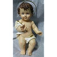 puntocasa Gesu niño Jesús. 19 cm Estatua bambinello ...