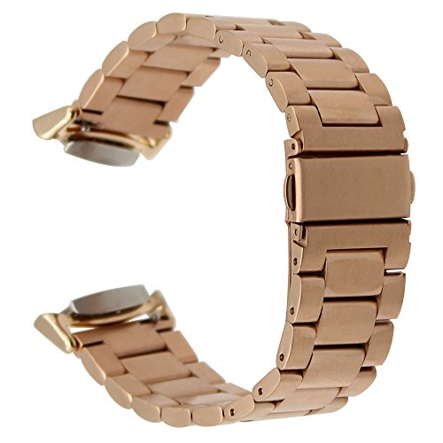 TRUMiRR Dell'Acciaio Inossidabile Cinturino Quick Release Cinturino con Adattatori per Samsung Gear S2 SM-R720