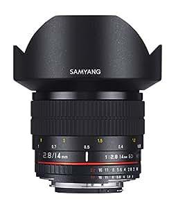 Samyang Obiettivo Grandangolare 14 mm f/2.8 ED AS IF UMC Aspherical per Fotocamere digitali Canon - colore: Nero