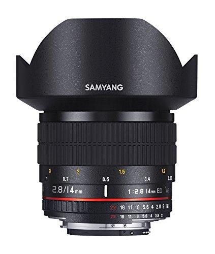 Samyang 14mm f/2.8 Objektiv für Canon EF Objektivbajonett