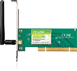 TP-LINK TL-WN350GD 54Mbps Wireless PCI Adapter