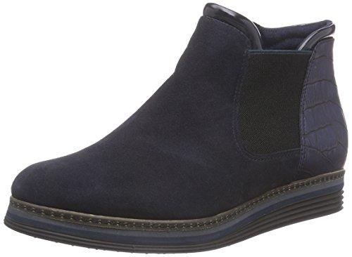 Tamaris 25055 Damen Chelsea Boots Blau (marinho 805)