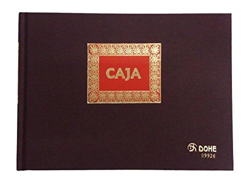 Dohe 9926 - Libro de contabilidad, caja, cuarto apaisado