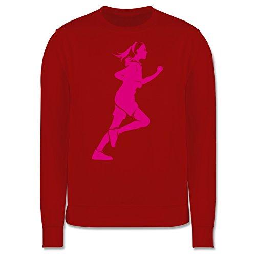 Laufsport - Läuferin - Herren Premium Pullover Rot
