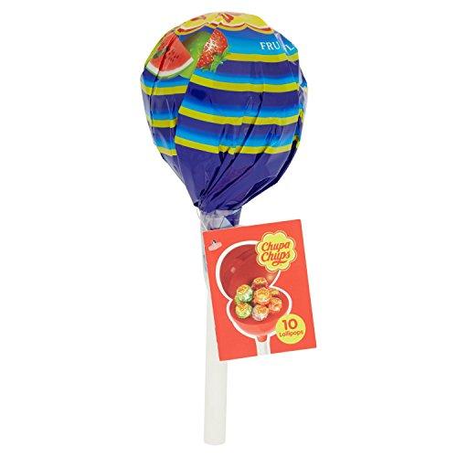 Chupa Chups Lollipop Mega Chups, confezione da 10 Pezzi