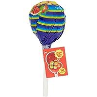 Chupa Chups Lecca Lecca Mega Chups, Grande Lollipop Contenente 10 Lollipops Monopezzi, Fragola, Arancia, Mela, Ciliegia, Anguria, Limone, Gusti Assortiti, 1 pezzo