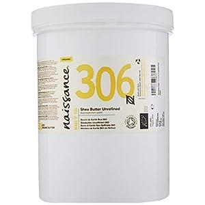 Naissance Manteca de Karité BIO n. º 306 – 1Kg – Pura, natural, certificada ecológicamente, sin refinar, elaborada de…