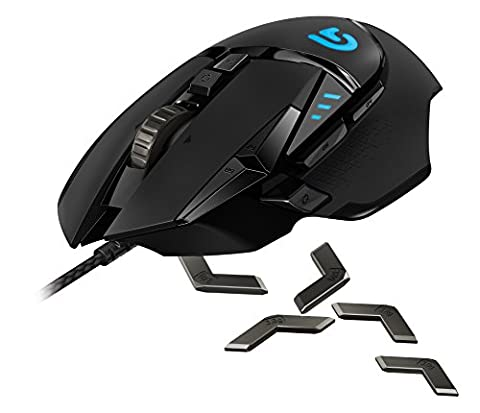 Logitech G502 Proteus Spectrum RGB Tunable Gaming Maus, FPS
