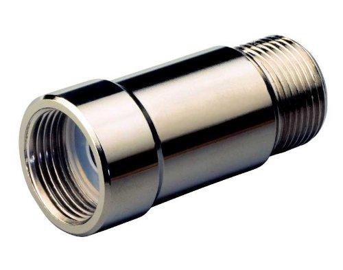 Ardes AR5021 Raccordo Anticalcare Magnetico Ecocal Per Elettrodomestici In Ottone Nichelato Ø 32 mm Lunghezza 63 mm