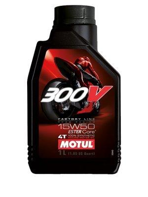 Motul 300V Factory Line 4T 104129 Road Racing, 15W-50, 4 L b6e808489374