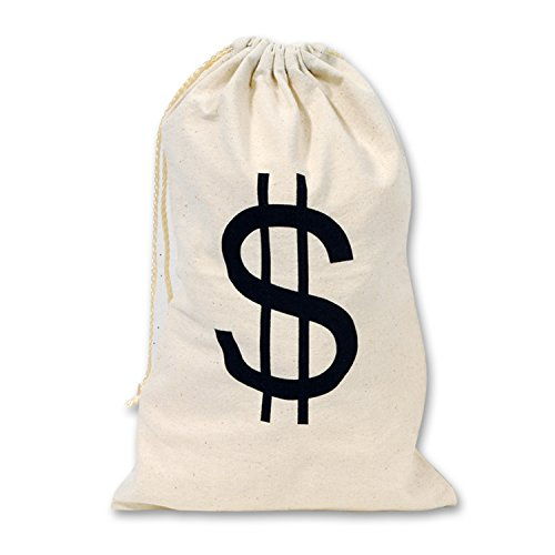 Cent Stück Kostüm - Beistle 54120Big $ Tasche, 17von 27,9cm