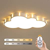 GaoHX Ceiling Light, Creative Cloud Shape Ceiling Light, LED Acrylic Light Ceiling, Bedroom lamp warm romantic children