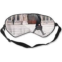 Fashion Attire Glatte Seiden-Eyeshade mit Schuhaufdruck, Schwarz preisvergleich bei billige-tabletten.eu