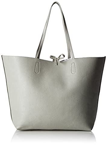 Sac A Main Rock - PIECES Pcbetty Bag, Henkeltasche femme, Grau (Lunar