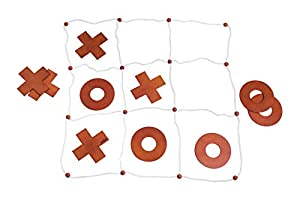 Woodyland 102191414 Garden- Juego de 5 en una Fila, Color Blanco