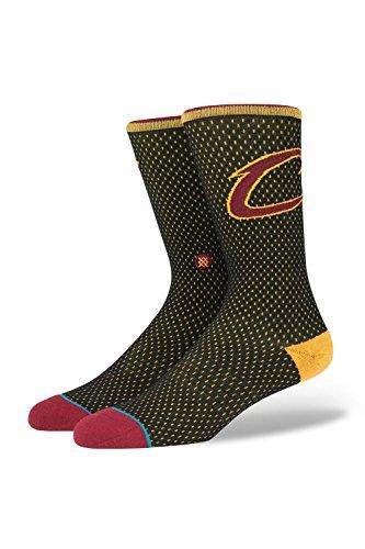 Cavs Jersey Socken black Größe: L Farbe: black (Kobe 6 Basketball-schuhe)