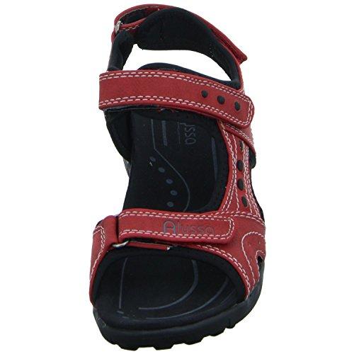 Alyssa 7522901 Damen Sandalette sportlicher Boden Rot (Rot) FUHFP0