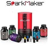 SparkMaker-1 Fournitures pour imprimante 3D Imprimante 3D Ultra-Fine de Bureau SLA/LCD/dlp 3D Résine UV Drucker pour Bijoux