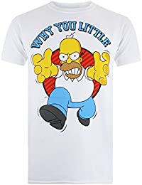 Simpson Why You Little, T-Shirt Homme