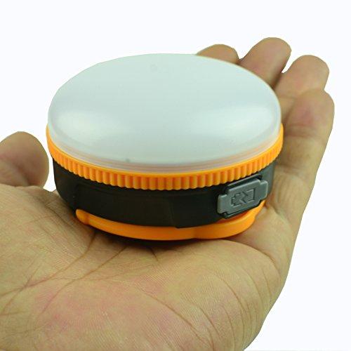 Jia & HE Tente Camping léger Ultra Lumineux Lumière chaude LED Lampe d'extérieur Lumière USB rechargeable Lanterne lampe de camping d'urgence