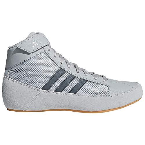 hot sales 23d82 8639e adidas - Zapatillas de Boxeo de Sintético para Hombre, Color Gris, Talla 37  1