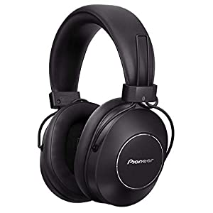 Pioneer S9 Wireless Over-Ear Headphones (Bluetooth Headphones with Google Assistent, NFC, Noise-Cancelling-Technology and 24 hours playing time) Black