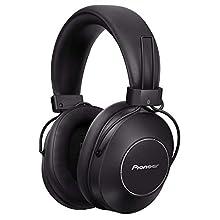 Pioneer S9 Over-Ear Auricolare Bluetooth (Cuffia con riduzione del rumore, assistente vocale, fino a 24 ore di durata della batteria, vivavoce, NFC, audio ad alta risoluzione, confortevole), nero