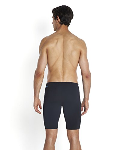 Speedo Herren Badehose Monogram Schwimmhose Black/Japan Blue