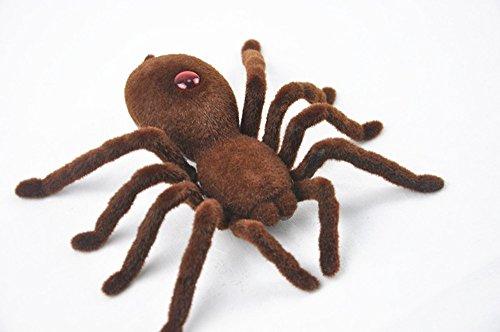 Gefälschte Spinne Kinder Spielzeug Weihnachtsgeschenk Lustiges Spiel Heikles Spielzeug mit Fernbedienung (Einfache Lustige College-halloween-kostüme)