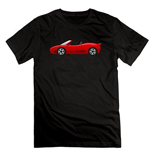 Herren Vintage Porsche grau beliebtes normalen T-Shirt Shirts, Herren, schwarz (Burnout Herren Tee)
