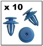 10 x RENAULT Clips de finition en plastique pour cartes de porte, couvertures, garnitures et panneaux de garniture