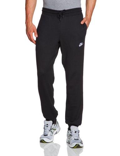 Nike Herren Jogginghose AW77 Fleece Cuffed Pant, Schwarz, XXL, 545329-010 (Fleece Gebürsteten Hosen)