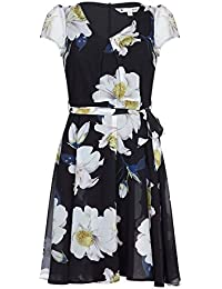 a925355f40 ... for Clothing   Women   Jumpsuits   Playsuits   18. Yumi Curves Bold  Flower Print Skater Dress