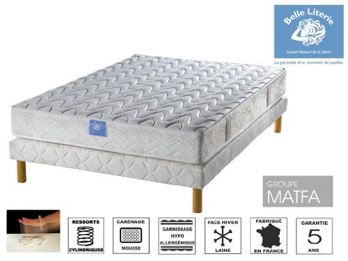 lit 190 achat vente de lit pas cher. Black Bedroom Furniture Sets. Home Design Ideas
