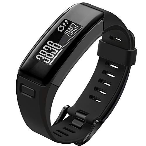 OenFoto Armband kompatible Garmin Vivosmart HR, weiche Silikonarmbänder Armband Sport Armband Zubehör mit Schraubendreher für Garmin Vivosmart HR