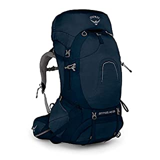Osprey Atmos AG Trekkingrucksack für Männer - Unity Blue (MD)