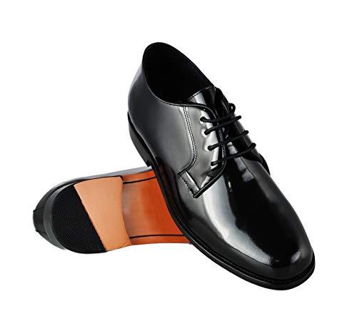 Zerimar Scarpe da Uomo Che Permettono di Aumentare la Statura Fino a +7 cm   Scarpe da Uomo con Aumento   Scarpe Che Aumentare la Tua alteza