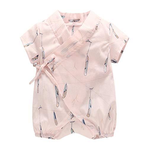 jerferr Baby Jumpsuit Neugeborene Garne Robe Floral Kimono Strampler Jumpsuit Kleidung - Stricken Kimono-robe