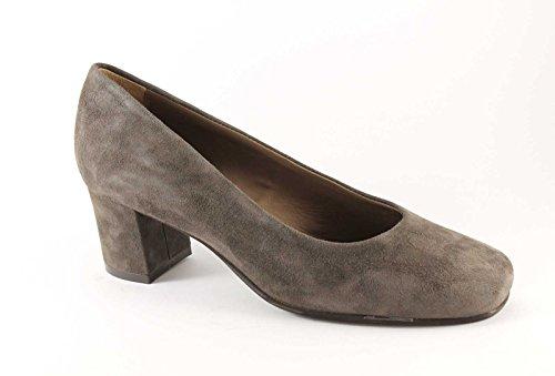 GRUNLAND SETA SC1569 taupe scarpe donna decolletè camoscio 38