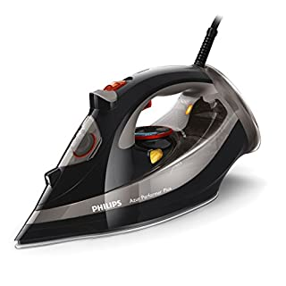 Philips GC4526/87 Azur Performer Plus Steam Iron with 210 g Steam Boost, 2600 W - Black
