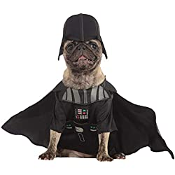 Star Wars - Disfraz de Darth Vader para mascota, Talla L perro (Rubie's 887852-L)