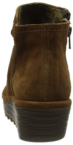 Classiques Bottes Camel Femme Marron Fly London 007 Riaz691fly HnWEtR