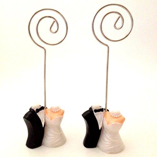 Platzhalter Braut und Bräutigam Tisch Name Card Ständer Halter (Braut Und Bräutigam Tisch)