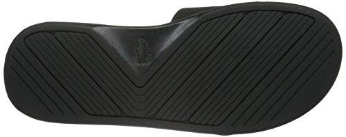 Lacoste L.30 Slide Casual, Pantoufles pour homme homme Noir - Schwarz (Blk 024)