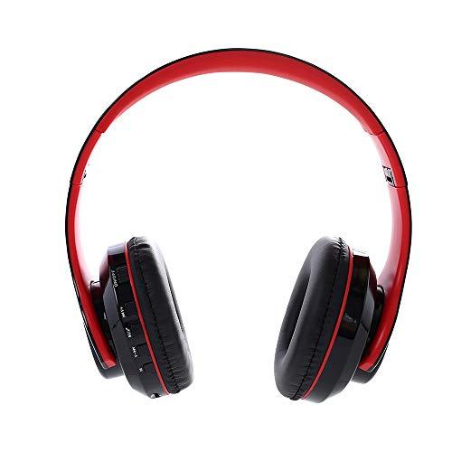 OPAKY Drahtlose Kopfhörer Bluetooth 4.1 Siebenfarbige LED über Ohr mit Mikrofon-Headset,für iPhone, iPad, Samsung, Huawei,Tablet usw.